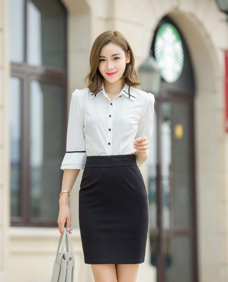 Đồng phục chân váy nữ công sở cao cấp